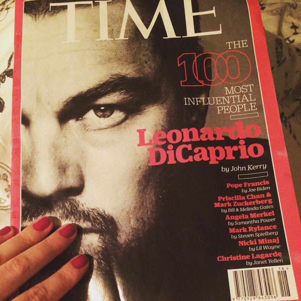 Check! inbed timemagazine 100mostinfluentialpeople2016